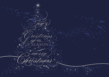 Radiant Night Christmas Cards
