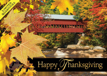 Bridge of Thanks Thanksgiving Cards